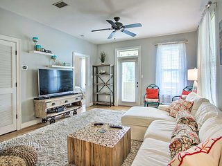 NEW! Emerald Coast Retreat on 30A: ½ Mi. to Beach!
