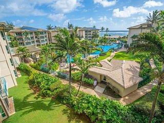 Waipouli  #E-406: Penthouse Ocean view 1bdr/2bath Suite