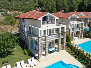 Stunning 3 Beds with large private pool villa rentals in Ovacik Turkey