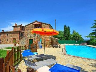 Monte San Savino Villa Sleeps 18 with Pool Air Con and WiFi - 5828537