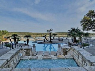 Lake Travis Views from Wrap-Around Patio! Gated Resort Community w/Pools & Tenni