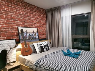 【hiii】Serenade|with Kitchen|MTR|10 min To GrandPalace&KhaoSan*CentralPinklao