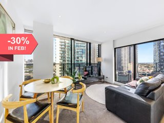 A Chic & Luxurious 2BR Apartment in Southbank