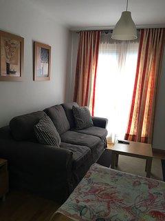 Salón y sofá cama