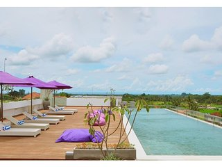 Vitel 1BR Deluxe with Rice Paddies View in Ubud Center