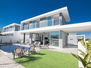 Protaras Olivine Villa OL14, 5 Bedroom with pool and sea views in the center