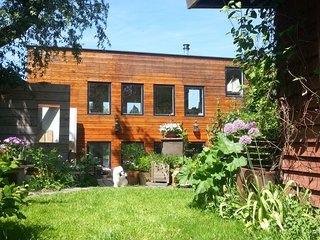 Artistic Houseboat  Amstel free parking + 4 bikes