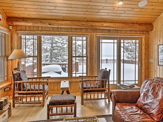 NEW! Lakeside Cabin: 11 Mi to Dtwn Shops & Dining!