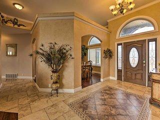 NEW! Luxe Erda Home w/Indoor Pool, Yard & Mtn View