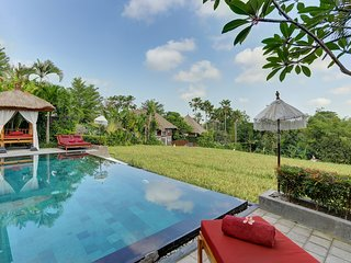 CANGGU – 5 BED VILLA WITH STUNNING RICE FIELD VIEW
