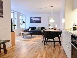 Cozy 2-bedroom apartment in downtown Copenhagen, 350 meters to the metro station