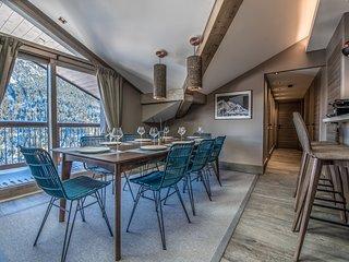 W Courchevel - Appartement neuf avec vue unique