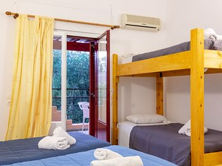 Wilde Rose hotel Dassia  4Beds room