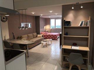 Location grand studio tout confort pour 2-3 personnes classée 3 étoiles