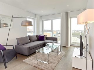 Modern 2Bed Apt w/Balcony in Kings Cross