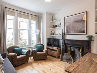 Charming 2bed flat w/garden in Clapham, sleeps 6