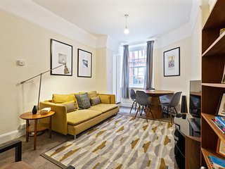 Modern 2Bed Apt in St Pancras, 5mins to station