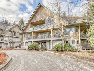 Delightful dwelling near Whistler Village w/ shared hot tub & private balcony!