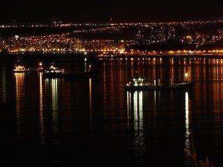 Valparaíso,Casa Lila Hermosa Vista a la Bahía, Habitaciones para 1 o 2 personas