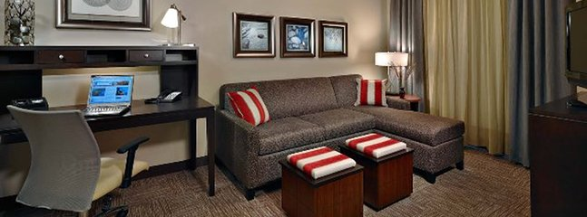 Relax and rejuvenate in the cozy living room.
