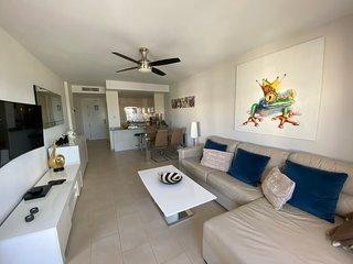 Modern Beach side apartment with Sea Views