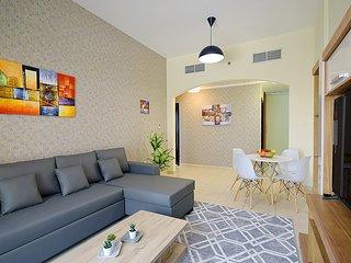 Delightful 1 BR apartment Dubai Silicon Oasis