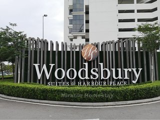 ❤️ Woodsbury Suites | Cozy Getaway 2R2B | Family 7Pax ❤️