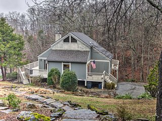 NEW! Gated Resort Home w/Norris Lake Access & Dock