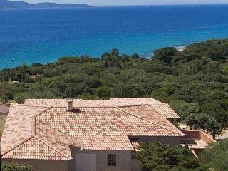 Villa des Plages - Valinco Superbe Vue Mer, agrèèe 4*, Plage à pied à la place