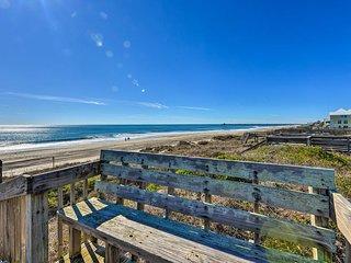 NEW! 'Hannah's Place' - Beachy Apt w/ Ocean Views!