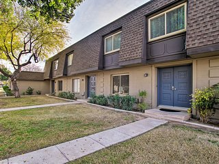 NEW! Tranquil Tempe Townhome w/Pool, By ASU & Golf