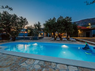 Holiday house Pendolino with private pool