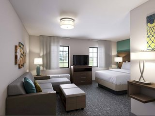 Suite with Accessible Tub | Indoor Pool + Hot Tub + Free Breakfast