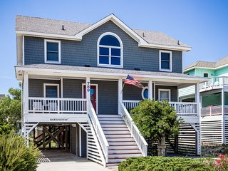 Barefootin' | 499 ft from the beach | Hot Tub, Community Pool | Corolla