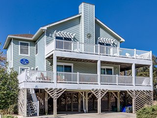 One Grand Whim | 698 ft from the Beach | Community Pool, Hot Tub | Corolla