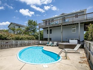 Carpe Duckem | 1395 ft from the beach | Private Pool, Hot Tub | Duck