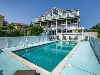 Sunset Retreat | 1900 ft from the beach | Private Pool, Hot Tub | Duck