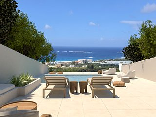 One bedroom stone villa with private pool and amazing sea view
