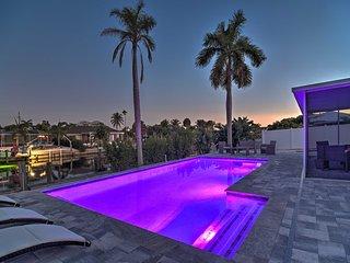 NEW! Canalfront 'Caribbean Retreat' w/ Pool!