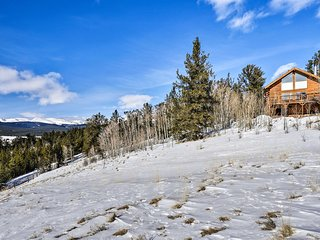 NEW! Backcountry Cabin w/Mtn Views 1Mi to Fairplay
