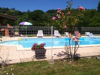 gîte 3* de plain pied avec piscine 3km d'Albi