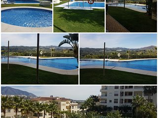3 bed luxurious modern apartment in La Cala Hills. New to vacation rentals 2020.