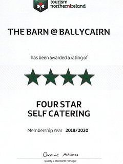 Tourism Northern Ireland 4* Accreditation