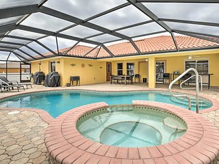 NEW! Modern Florida Oasis near Cape Coral Parkway!