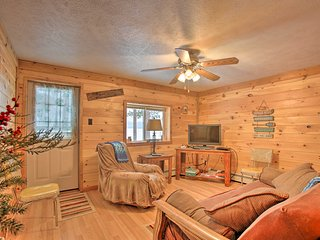 NEW! Interlochen Cabin < 1 Mile from Green Lake!