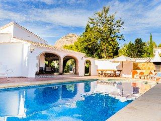 Villa El Patio Jávea, muy Soleada con Piscina Privada