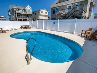 Casa Mia | 446 ft from the beach | Private Pool, Hot Tub | Kill Devil Hills