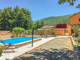 Stunning home in Vrlika w/ Outdoor swimming pool, WiFi and Heated swimming pool