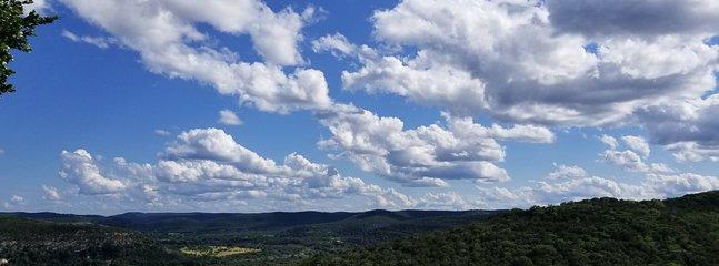 Espectaculares vistas desde The Retreat.