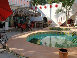Casa Minutti a 2 calles de la playa con Alberca